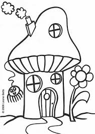 It Seems That They Want To Impress Me And I Was Indeed Excited Will Looking Mushroom HouseKids ColouringAdult