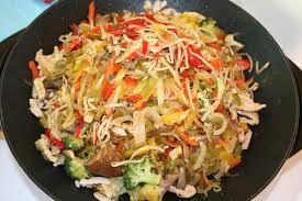 cuisiner avec un wok wok chinois aux légumes version végétarien cardamome