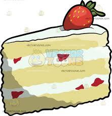 A Slice Strawberry Shortcake