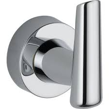 Delta Faucet Indianapolis Careers by Delta Faucet 77135 Compel Robe Hook Polished Chrome Amazon Com