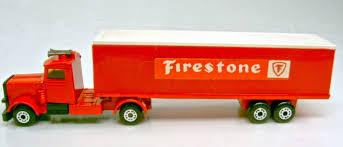 100 24 Box Truck TPA Peterbilt Firestone Harveys Matchbox