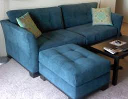 elliot sofa in teal microfiber special order color from macy s
