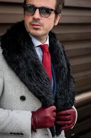 collar coats for men u2013 how to wear a fur coat blog