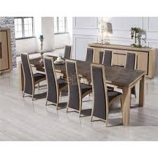 table salle a manger chene table de cuisine design pas cher