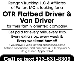 OTR Flatbed Driver, Van Driver, Reagan Trucking Llc & Affiliates Local Owner Operator Trucking Jobs Operators La Dicated Trucking Job Southern Loads Only Job In Baton Rouge Usps Truck Driver The Us Postal Service Is Building A Self Driving Jobs Could Be First Casualty Of Selfdriving Cars Axios Tlx Trucks Flatbed Driving In El Paso Tx Entrylevel Afw Otr Recruitment Video Youtube Home Shelton Opportunities Stevens Drivejbhuntcom Company And Ipdent Contractor Search At Jobsparx 2016 By Issuu