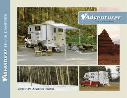 2009 Adventurer Truck Camper Brochure (1.2 MB PDF) Albertarvcountrycom Rv Dealers Inventory The Other End Of The Spectrum Strolling Amok 2014 Alp Adventurer Truck Campers Brochure Brochures Download Ram 2500 Flatbed Pop Up Slide Out Camper Expedition Portal Isuzu Slr Review Eagle Cap Camper Super Store Access Best Deals On Trailers Campers And Toy Haulers Rentals Too We Meet Leentu 150pound Popup Featuring Seadek Marine Products 2006 Northstar Tc650 7300 Located In Hernando Beach 2005