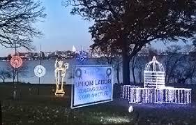 Olin Park Christmas Lights