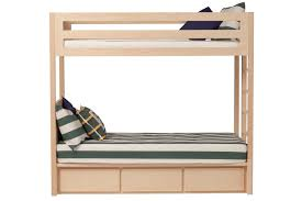 Twin XL Bunk Beds with 3 drawers Twin XL Beds Bedroom by