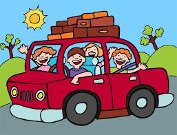 Family Car Travel Clipart Kid