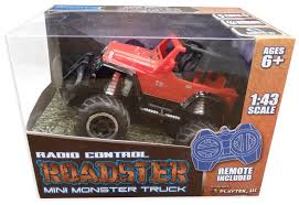 Playtek Full Function 1:43 Scale R/C Roadster Mini Monster Truck ... Mini Monster Truck What 2 Buy 4 Kids Sarielpl A Monster Truck Based On A Suzuki Sj4 Hot Sale Newest Wpl C14 116 Rc Hynix 24g Offroad For Jimny In Oban Argyll And Bute Amazoncom New Bright Sf Hauler Set Car Carrier With Two Dirt Every Day Extra Season November 2017 Episode 253 Sherp Atv Gets Amphibious Upgrade Is That Goes Maineiac Home Facebook Ambee The Mighty