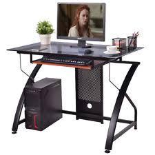 Corner Desk Ikea Ebay by Glass Top Desk Ebay