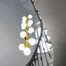 tom dixon launches two new lighting designs at stockholm design week