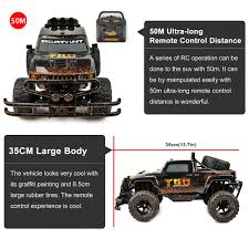 ET YE81405 RC Cars Remote Electric Truck Car 4CH 27Mhz Model 1/10 ... Monster Jeep Mud Defender Suv Remote Control Truck Off Road Toys Mega Mule Rc Trucks Wiki Fandom Ford F150 Lightning Svt Wrestler Rtr Landoffroad Best Bogging Wwwtopsimagescom Lift Kit By Strc For Axial Scx10 Chassis Making A Megamud Adventures Stuck In Swamp 4x4 Wrangler Rc Revell Buggy Mud Scout 5 Cars Under 100 2017 Car Expert Everybodys Scalin Prepping The Big Squid