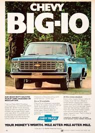 1976 Ad Chevy Chevrolet Big-10 Fleetside Farmer Six Advertisement ... Dans Garage Chevy Truck Broadway Automotive In Green Bay An Appleton Shawano Marinette 78 Parts Save Our Oceans Weiand Action Plus Water Pump Sbc Long Polishedclassic 1952 Chevygmc Pickup Brothers Classic 20 Best Vintage Chevrolet Wallpaper Designs Of 76 1975 K20 Wiring Diagrams Complete Scotts Hotrods 631987 Gmc C10 Chassis Sctshotrods 6in Suspension Lift Kit For 7376 4wd 1500 Suv Satinclassic