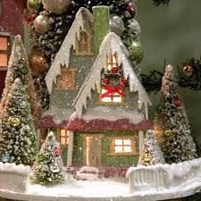 KD Vintage Traditional Christmas House III