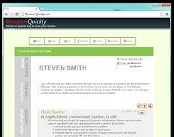 Free Resume Builder Websites And Applications