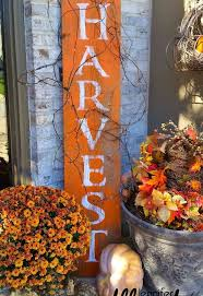 Harvest Barnwood Sign For Fall Crafts Seasonal Holiday Decor
