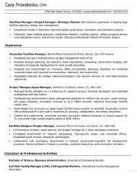 Telecom Resume Examples Project Manager Cv Military Bralicious Co Associate