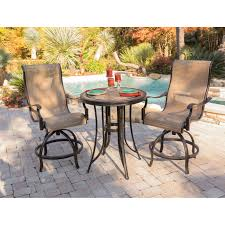 Lavishly Bar Height Patio Table Hanover Monaco Aluminum 3 ... Phi Villa Height Swivel Bar Stools With Arms Patio Winsome Stacking Chairs Awesome Space Heater Hinreisend Fniture Table Freedom Outdoor 51 High Ding 5 Piece Set Accsories Ashley Homestore Hanover Montclair 5piece Highding In Country Cork With 4 And A 33in Counterheight Tall Ideas Get The Right For Trex Premium Sets Shop At The Store Top 30 Fine And Counter