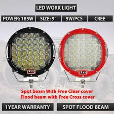 Round 185W 9inch Led Driving Work Light 4x4 Offroad Lights With Free ... Led Offroad Light Bars For Trucks Led Lights Design Top 10 Best Truck Driving Fog Lamp For Brightest 36w Cree Work 12v Vehicle Atv Bar Tractor Rms Offroad Cheap Off Road Find Aliexpresscom Buy Solicht 55 45w 9pcs 10inch 255w 12v Hight Intensty Spot Star Rear Chase Dust Utv Jeep Pair Round 9inch 162w 4x4 Rigid Industries D2 Pro Flush Mount 1513 Heavy Duty Vehicles Desnation News