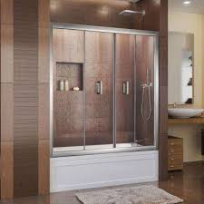 Bathtub Doors Home Depot by 58 In 59 In Bathtub Doors Bathtubs The Home Depot