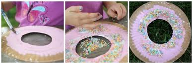 Donut Paper Plate Craft
