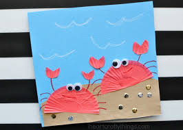 Cupcake Liner Crab Craft 3