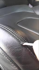 reparation siege cuir auto reparer un siege en cuir