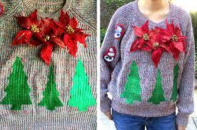 Leg Lamp Christmas Sweater Diy by Make An Ugly Christmas Sweater With Lights Christmas Lights
