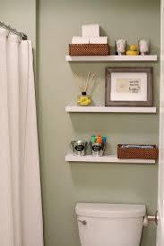 bathroom shelves above toilet ideas Pinterest