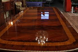 American Empire Style Mahoganyining Table Gorgeous Room Large Solid Wood Tables Canadaark Wooden Dining Category