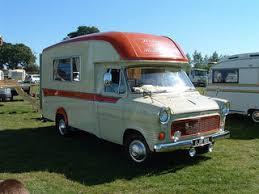 Vintage Ford Transit Camper Van