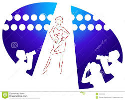 Lingerie Fashion Show Clipart 1