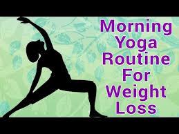Morning Yoga Asanas For Weight Loss