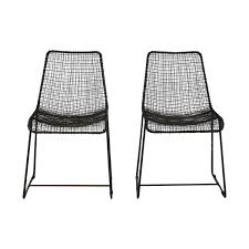 100 Modern Metal Chair 54 OFF CB2 CB2 Wire S S