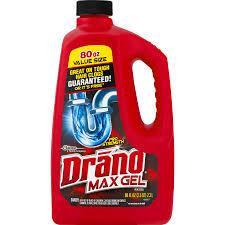 drano max gel clog remover 80 fl oz walmart com