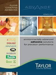Spectra Contract Flooring Dalton Ga by Wf Taylor Catalog Flooring Adhesive