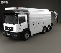 MAN F2000 Sewer Truck 1994 3D Model - Hum3D