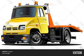 100 Tow Truck Vector Stock Cartoon SOIDERGI