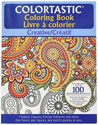 OF E MISHON Colortastic Creative Coloring Book For Grown Ups