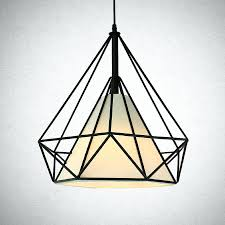 Geometric Pendant Light Diy Copper