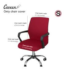 CAVEEN Office Chair Cover Computer Chair Universal Boss Chair Cover Modern  Simplism Style High Back Large Size (Chair Not Included) Red Small Fitt Highback Jet Black Leer En Lnea Bush Business Fniture State High Back Marco Chair Without Arms Leather 1510 Flash White Leathergold Frame Officedesk Chairs Modern Diffrient Waiting Remarkable Wor Desks Small Desk Chairs With Wheels Office Desing Oxford Heavy Duty To 150kg With Medium Or For Peace Quiet And Privacy From Orgatec 2018 Comfortable Ergonomic Mesh Buy Sylphy Light Grey Caveen Cover Computer Universal Boss Simplism Style Large Size Not Included Small Adjustable