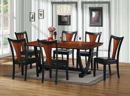 Coaster Furniture Boyer Collection Black / Cherry 7 Piece ... Coaster Boyer 5pc Counter Height Ding Set In Black Cherry 102098s Stanley Fniture Arrowback Chairs Of 2 Antique Room Set Wood Leather 1957 104323 1perfectchoice Simple Relax 1perfectchoice 5 Pcs Country How To Refinish A Table Hgtv Kitchen Design Transitional Sideboard Definition Dover And Style Brown Sets New Extraordinary Dark Wooden Grey Impressive And For Home Better Homes Gardens Parsons Tufted Chair Multiple Colors