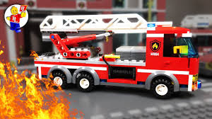 100 Lego Fire Truck Video S In Action LEGO City Mini Movies YouTube