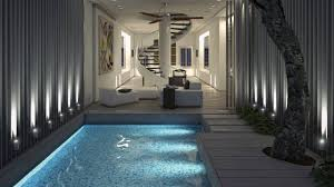 100 Terraced House Designs 10 Minimalist Swimming Pool For Small S