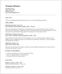Banking Cover Letter For Resume Banker