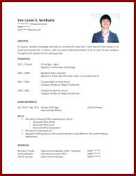Resume With No Work Experience Template Sample College Student Free Templates