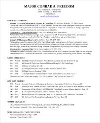 Pilot Resume Template 5 Free Word PDF Document Downloads