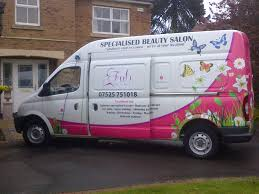Mobile Beauty Van Conversion Example Sold In May 2013 To A Therapist