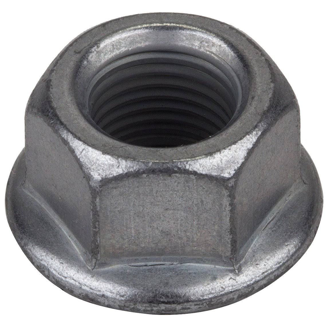 Sunlite Rust Shield Bicycle Hub Axle Nut - Flanged Grey, 5/16 x 24t